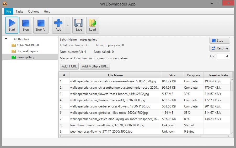 WFDownloader App 0.80 full